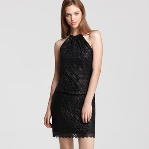 Laundry by Shelli Segal Lace Dress - Ring Halter